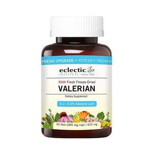 Valerian 425 mg 90 Caps by Eclectic Institute Inc (4754031050837)