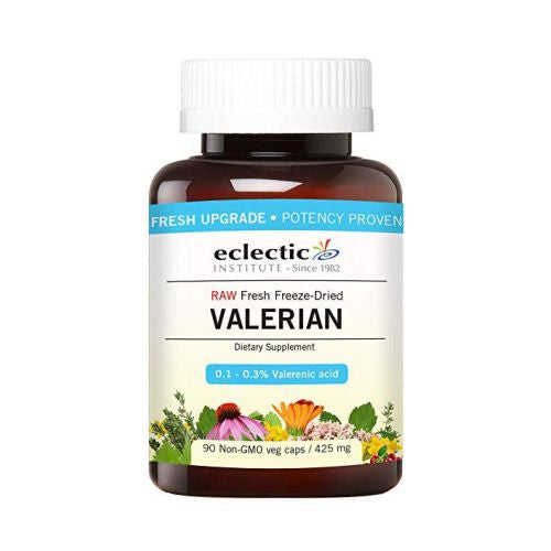 Valerian 425 mg 90 Caps by Eclectic Institute Inc