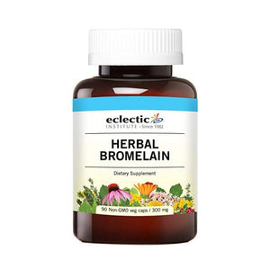 Herbal Bromelain 90 Caps by Eclectic Institute Inc (4754032361557)