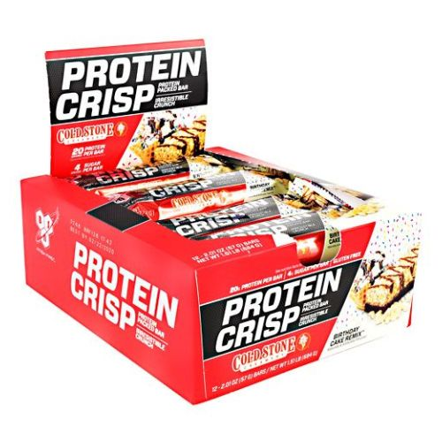Protein Crisps Birthday Cake Remix 12 Each by BSN Inc.