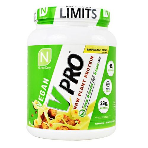 V Pro Banana Nut Bread 15 Servings by Nutrakey