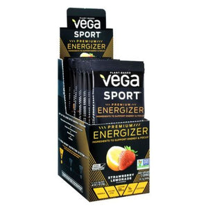 Sport Premium Energizer Strawberry Lemonade 12 Each by Vega (4754035179605)