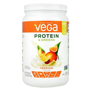 Protein & Greens Tropical 1 lb by Vega (4754036523093)