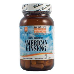 American Ginseng Raw Herb 60 Veg Caps by L. A .Naturals (4754045894741)