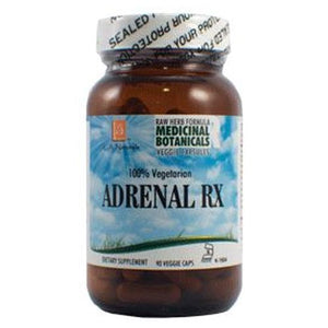 Adrenal RX Raw Formula 90 Veg Caps by L. A .Naturals (4754047991893)