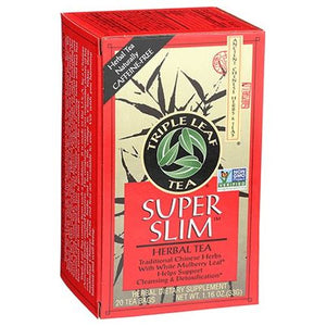 Super Slim Herbal Tea 20 Bags by Triple Leaf Tea (4754055364693)