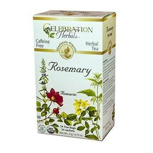 Organic Rosemary Leaf Tea 24 Bags by Celebration Herbals (4754060148821)