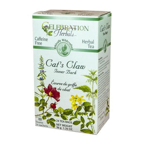 Cat's Claw Inner Bark WildCraft Tea 24 Bags by Celebration Herbals (4754060673109)