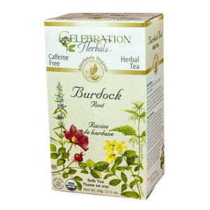 Organic Burdock Root Tea 60 grams by Celebration Herbals (4754062803029)