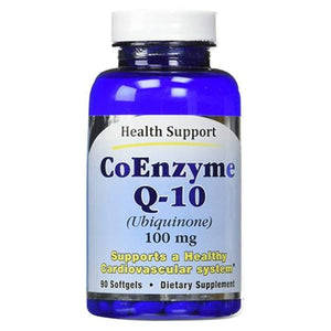 CoQ 10 90 Softgels by Health Support (4754077810773)