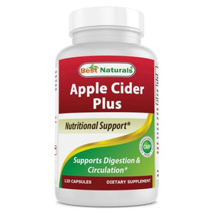 Apple Cider Plus 120 Caps by Best Naturals (4754089476181)
