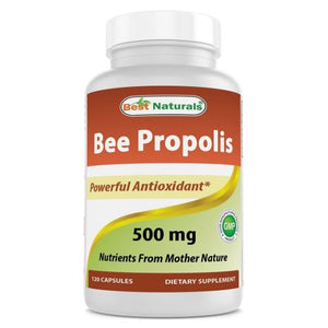 Bee Propolis 120 Caps by Best Naturals (4754093473877)
