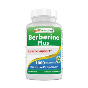 Berberine Plus 120 Caps by Best Naturals (4754093572181)