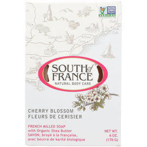 Cherry Blossom Bar Soap 6 Oz by South Of France Soaps (4754112970837)
