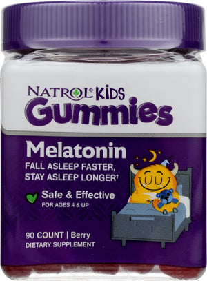 Kids Melatonin Berry 90 Count by Natrol (4754113101909)
