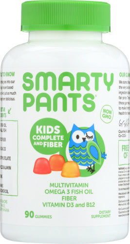 Kids Complete & Fiber 90 Count by SmartyPants (4754116640853)