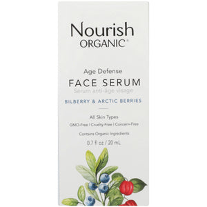 Age Defence Face Serum 0.7 Oz by Nourish (4754117886037)