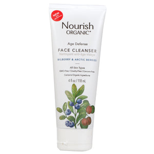 Age Defence Face Cleanser 4 Oz by Nourish