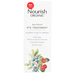 Age Defence Eye Treatment 0.5 Oz by Nourish (4754117951573)