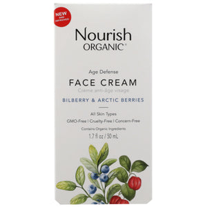 Age Defence Face Cream 1.7 Oz by Nourish (4754117984341)