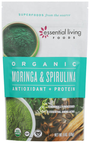 Moringa Spirulina 6 Oz by Essential Living (4754118574165)