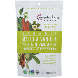 Protein Smoothie Matcha Vanilla 6 Oz by Essential Living (4754118639701)
