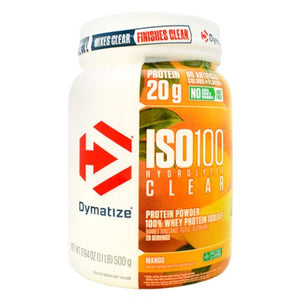 Iso 100 Hydrolyzed Clear Mango 1.1 lbs by Dymatize (4754121818197)