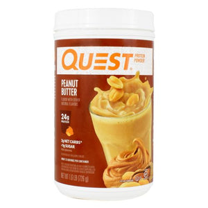 Protein Powder Peanut Butter 1.6 lbs by Quest Nutrition