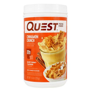 Protein Powder Cinnamon Crunch 1.6 lbs by Quest Nutrition (4754130665557)