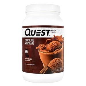 Protein Powder Chocolate Milkshake 3 lbs by Quest Nutrition (4754130698325)