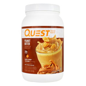 Protein Powder Peanut Butter 3 lbs by Quest Nutrition (4754130763861)