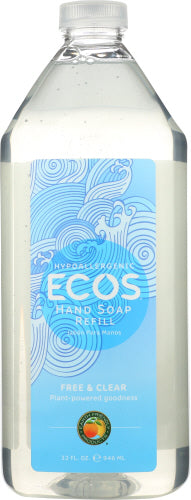 Hand Soap Free & Clear Refill 32 Oz by Earth Friendly (4754135318613)
