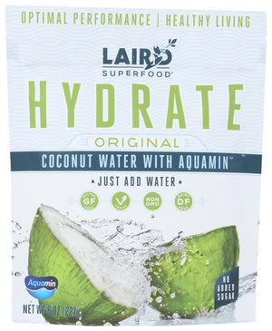 Hydrate Drink Powder original 8 Oz by Laird Superfoods (4754135515221)