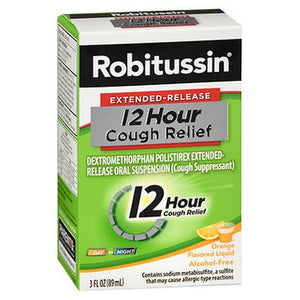 Robitussin 12 Hour Cough Relief Liquid Orange Flavored 1 Each by Robitussin (4754159730773)