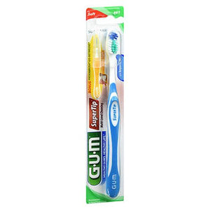 Gum Supertip Toothbrush Soft 1 Each by Gum (4754159927381)