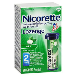 Nicorette Lozenges  Mint 24 Each by Nicorette (4754166186069)