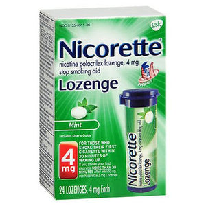 Nicorette Lozenges  Mint 24 Each by Nicorette (4754166218837)
