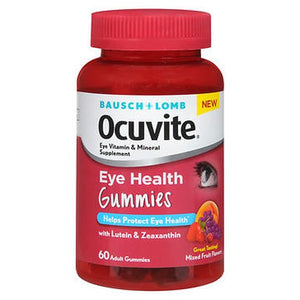 Bausch + Lomb Ocuvite Eye Health Gummies 60 Each by Bausch And Lomb (4754169528405)