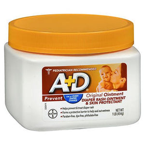 A+D Diaper Rash Ointment & Skin Protectant Original 16 Oz by A+D (4754170019925)