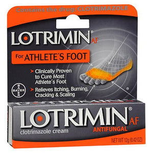 Lotrimin AF Antifungal Cream 0.42 Oz by Lotrimin (4754178867285)