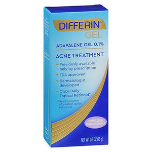Differin Gel Acne Treatment 15 Grams by Differin (4754182209621)