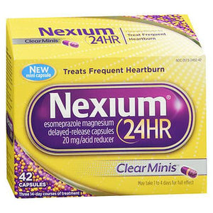 Nexium 24Hr Capsules Clear Minis 42 Caps by Nexium 24HR (4754188730453)