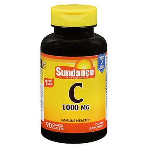 Sundance Vitamin C Coated Caplets 90 Tabs by Sundance (4754196627541)