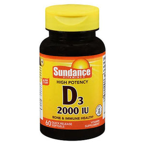Sundance D3 Quick Release Softgels 60 Tabs by Sundance (4754196987989)