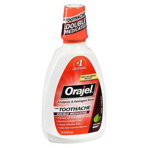 Orajel Analgesic & Astringent Rinse for Toothache Soothing Mint 16 Oz by Orajel (4754202624085)