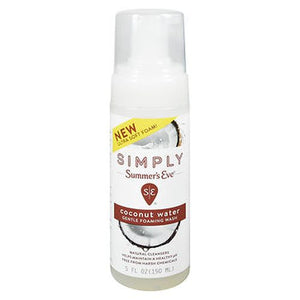 Simply Summer'S Eve Gentle Foaming Wash Coconut Water 5 Oz by Summers Eve (4754204262485)