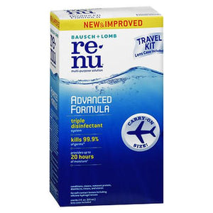 Bausch + Lomb Renu Advanced Formula Multi-Purpose Solution Travel Kit 2 Oz by Bausch And Lomb (4754218516565)