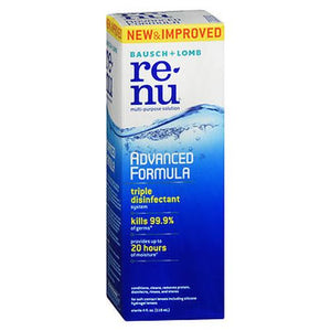 Bausch + Lomb ReNu Advanced Formula Multi-Purpose Solution 12 Oz by Bausch And Lomb (4754218614869)