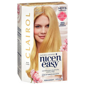 Nice 'n Easy Permanent Haircolor 10 Extra Light Blonde 1 Each by Nice 'n Easy (4754224218197)