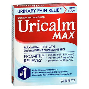 Uricalm Max Tablets 24 Tabs by Uricalm (4754229330005)